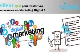 QCM MARKETING DIGITAL