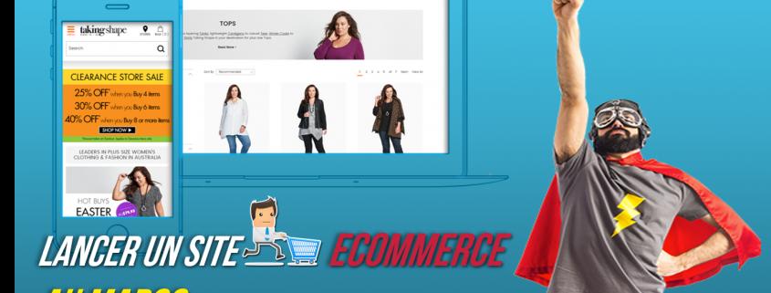 création site ecommerce au maroc
