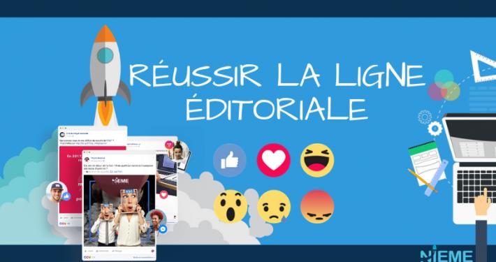 Ligne éditoriale sur les réseaux sociaux