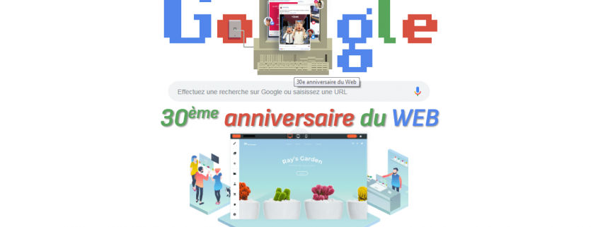 trente ans anniversaire du web