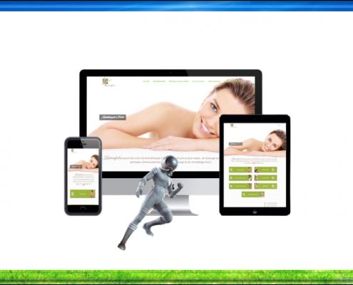 création site web rabat kineconfort