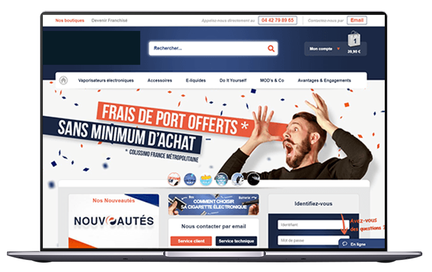 création pack site ecommerce