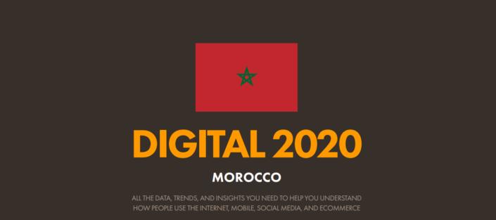Rapport Digital 2020 Maroc