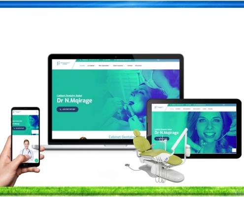 Création site web cabinet dentaire rabat