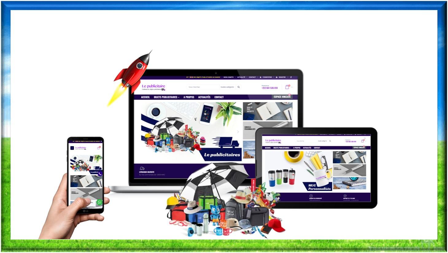 création site web e-Commerce lepublicitaire