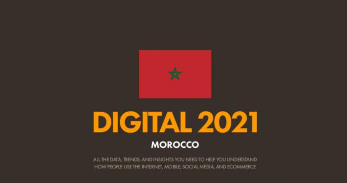 Rapport Digital 2021 maroc