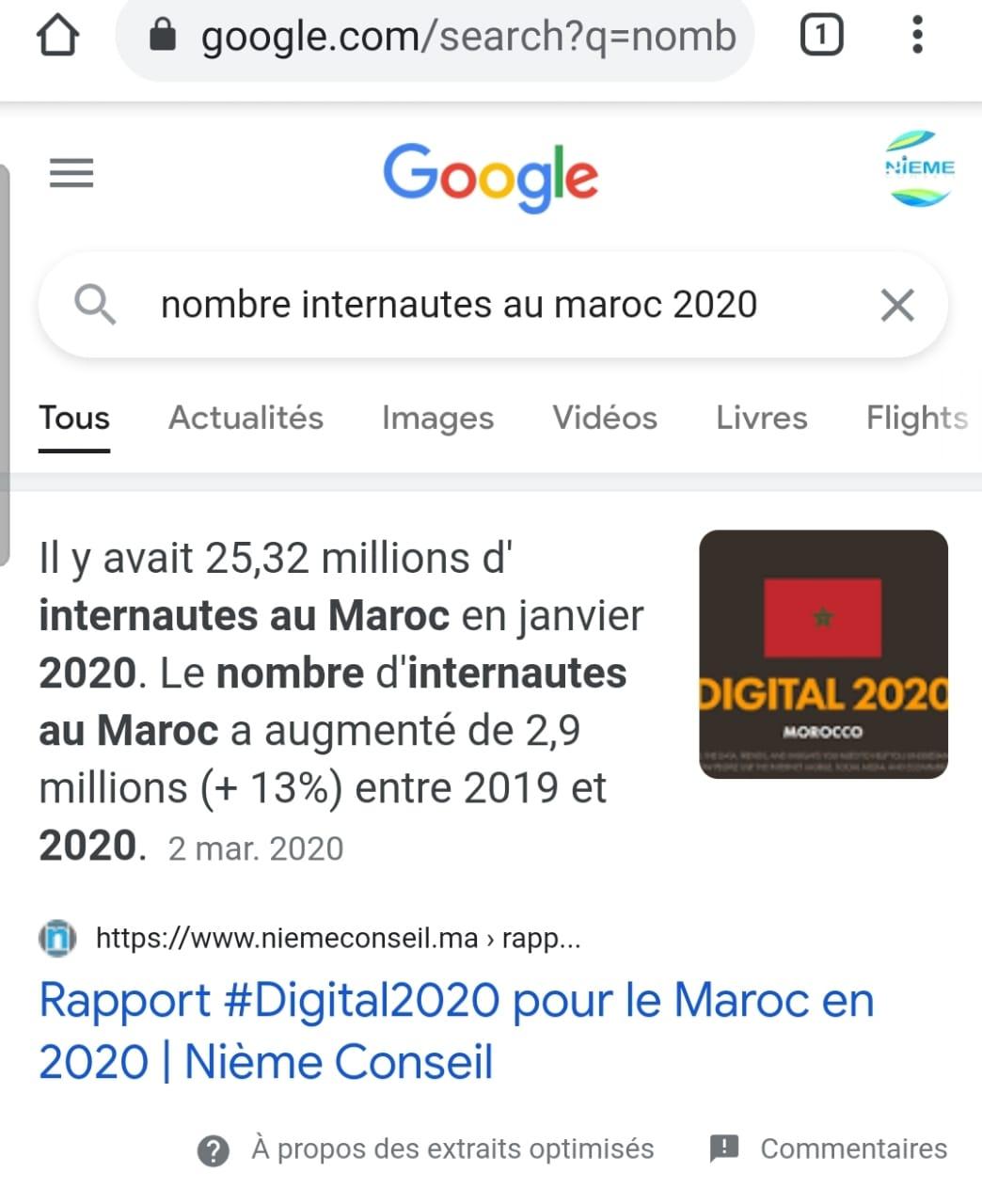 le zéro clic Maroc